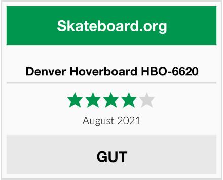 Denver Hoverboard HBO-6620 Test