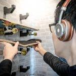 DIY: Wandhalterung für Skateboard bauen