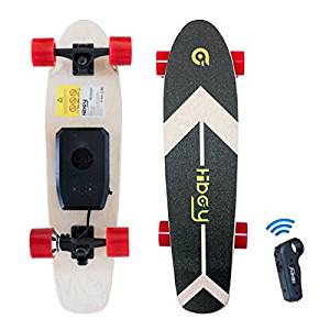Skateboards mit Motor