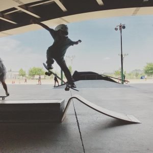 Skateboard Rampen