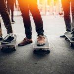 Dämpfung beim Skateboarding mit den richtigen Skateschuhen