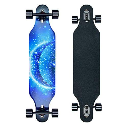 CLYCTIP Longboard Blau