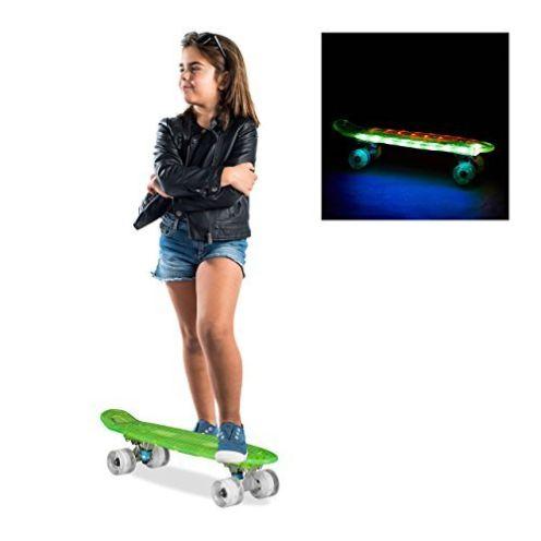 Relaxdays Mini Cruiser Skateboard