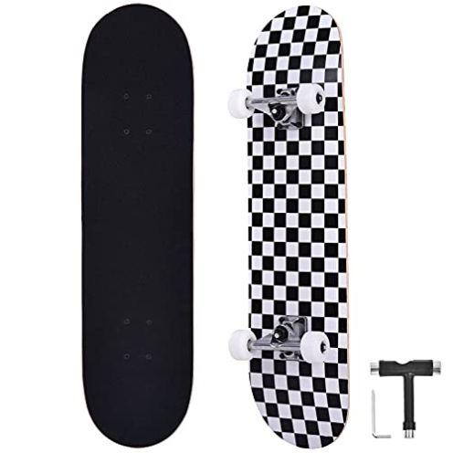 Bellanny Skateboard Schachbrett