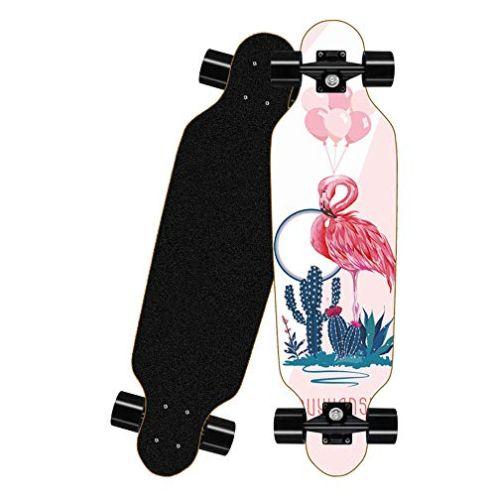 KHDKX Longboard Flamingo