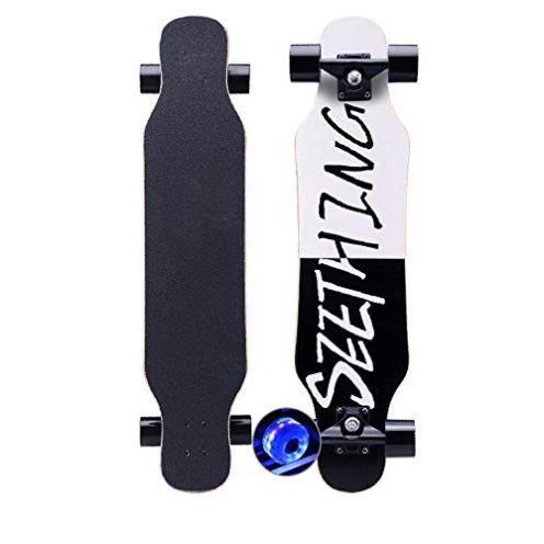 KHSKX Longboard Blitz schwarz und weiß