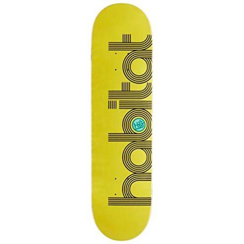 HABITAT Ellipse Deck Yellow