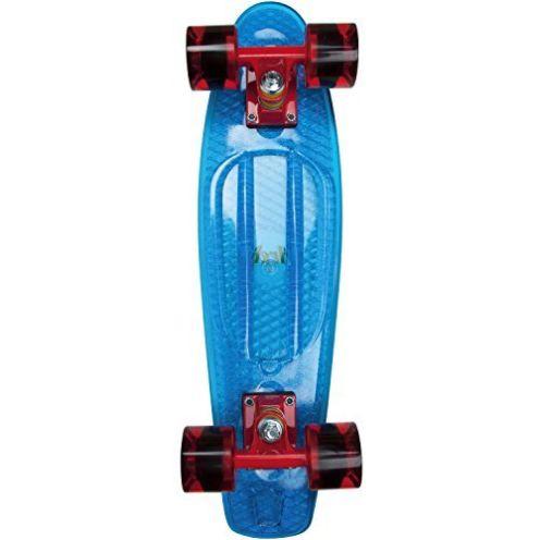 AREA Skateboard-Komplettset Design Blau