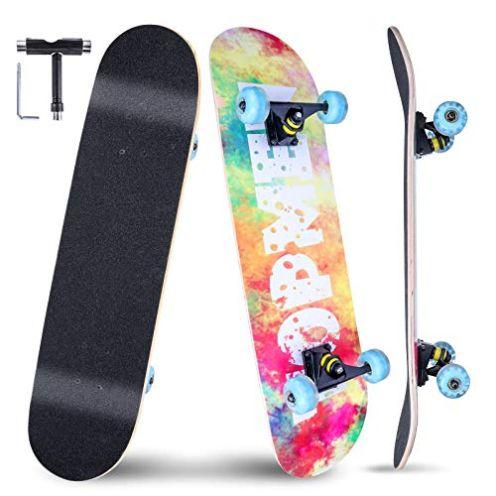 Vikaster Skateboard Gemalt-Neuer Stil