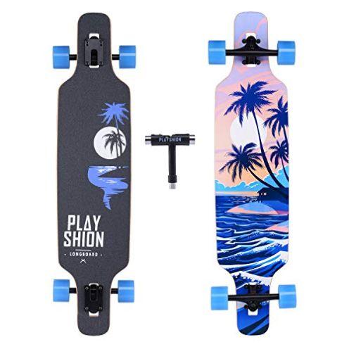 Playshion Longboard Kokospalme