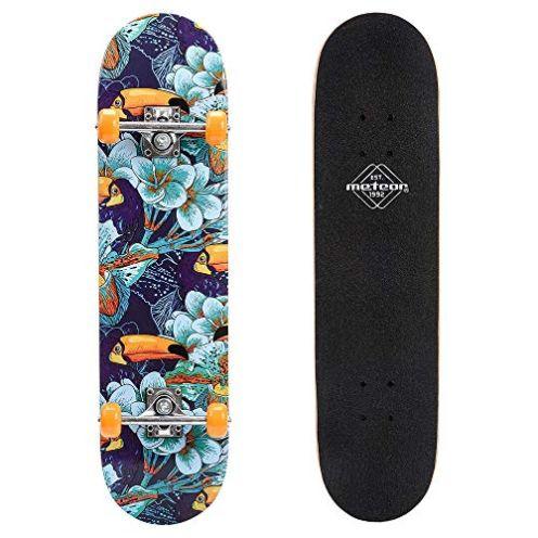 Meteor Holz Skateboard Jungle