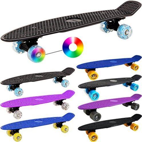 Deuba Altantic Rift LED Skateboard