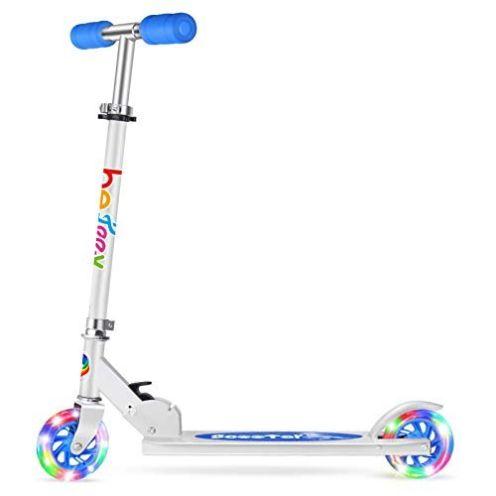BELEEV Kinder Roller mit LED Rädern