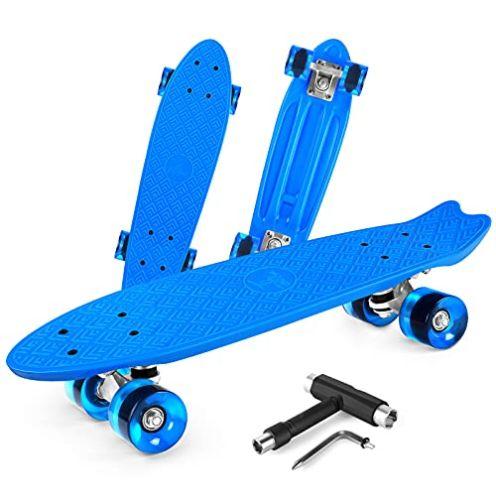 BELEEV Mini Cruiser Skateboard