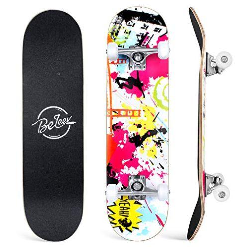 BELEEV Skateboard 31 x 8 Zoll
