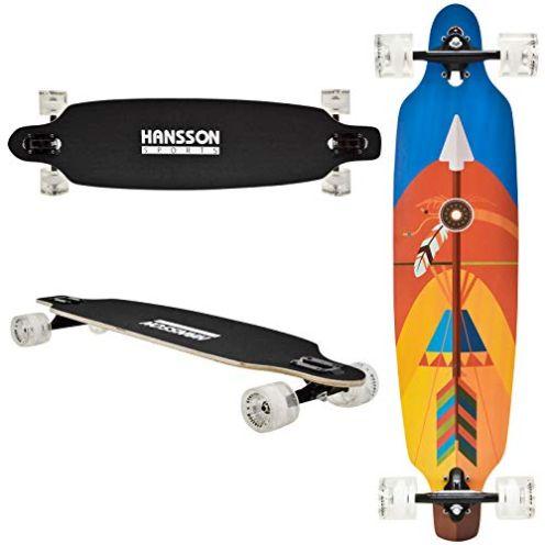 Hansson Sports Top Longboard Pfeil