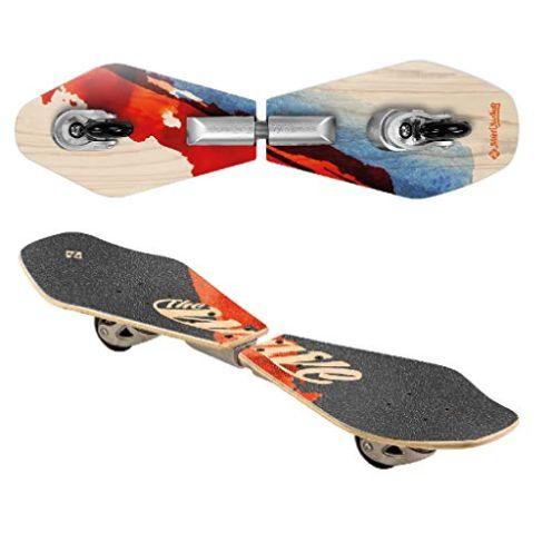 Streetsurfing Street Surfing Wooden Waveboard WA