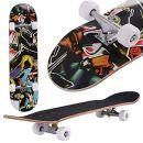 fiugsed Skateboard Menschlicher Kopf