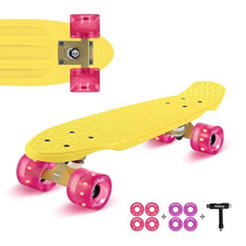 Fun Pro Mini-Cruiser Retro-Skateboard