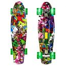 Hiriyt Mini Cruiser Skateboard Retro