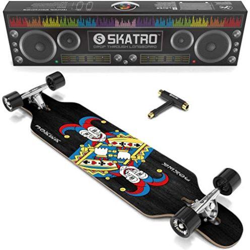 Skatro Drop Through Longboard